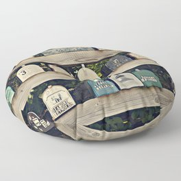 Mailboxes Floor Pillow