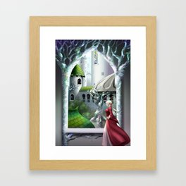 The High Elf Capital Framed Art Print