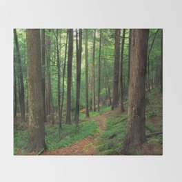 Forest 4 Throw Blanket