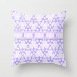 Lavender decor Pattern Design Throw Pillow