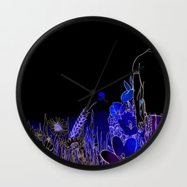 The Life We Live Wall Clock