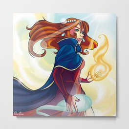 Power Metal Print