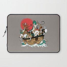 Miyazaki's ark Laptop Sleeve
