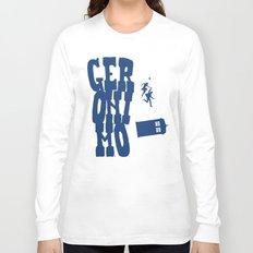 Geronimo Doctor Who Long Sleeve T-shirt