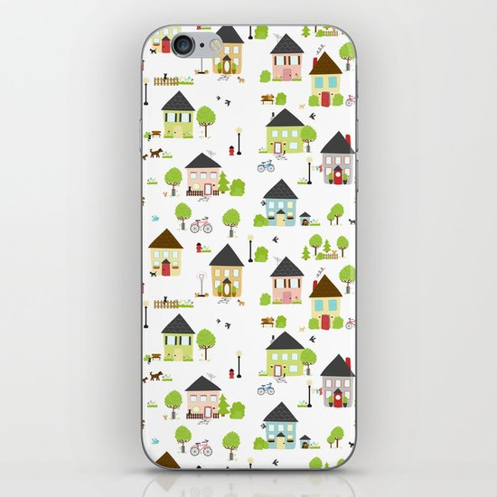 Little Boxes iPhone & iPod Skin