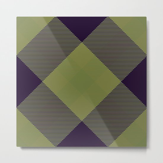 Tartan Pattern 2 Metal Print