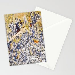 Coral Queen Stationery Cards