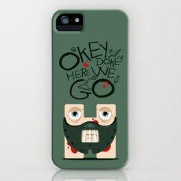 Okey Dokey Hannibal iPhone Case