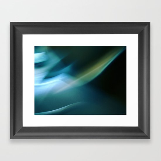 Between Moonshadows Framed Art Print