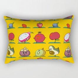 Super Fruits Yoga Rectangular Pillow