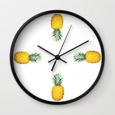 Big Pineapples Wall Clock