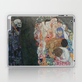 Life and Death - Gustav Klimt Laptop & iPad Skin