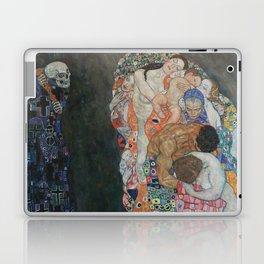 Life and Death - Gustav Klimt Laptop & iPad Skin