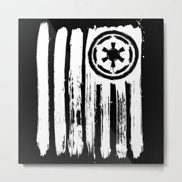 Empire Flag Metal Print