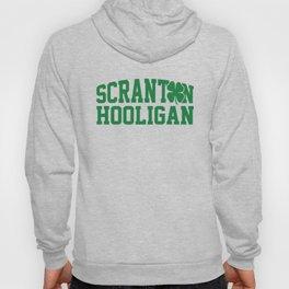 Scranton Hooligan Shamrock Clover St. Patrick's Day Hoody
