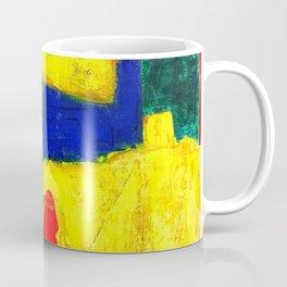 Equilibrium - Balance -Öl auf Leinwand Coffee Mug