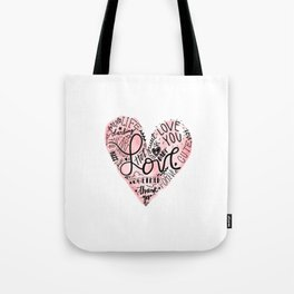 Happy National Valentines Day Tote Bag