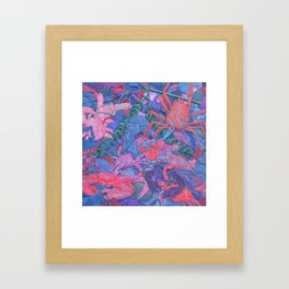 Crabs #2 Framed Art Print