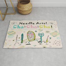Needle Arts! Cha-Cha-Cha! Rug