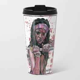 The Walking Dead's Michonne Travel Mug
