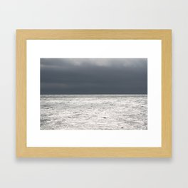 Ominous Ocean Framed Art Print