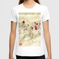 poem T-shirts featuring A POPPY  POEM by Stephanie Koehl