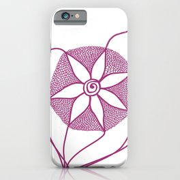 Pretty in Pink (Let go!) iPhone Case