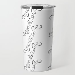 White Orient Travel Mug