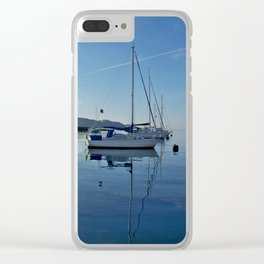 Perfect Morning After Sailing Clear iPhone Case