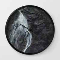 marc jacobs Wall Clocks featuring Jacobs Falls by Julie