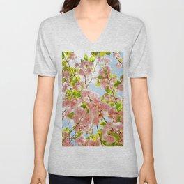 Spring Blossom III Unisex V-Neck