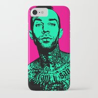 blink 182 iPhone & iPod Cases featuring Travis Barker (Blink-182) by Blake Lee Ferguson