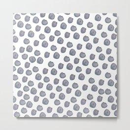 Bundle of Blueberries Metal Print