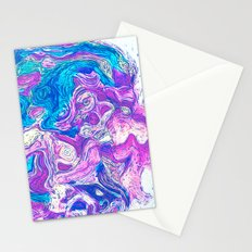 ABSTRACT ART EARTH Stationery Cards
