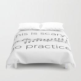 Go practice - clarinet Duvet Cover