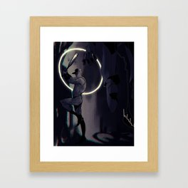BURNT Framed Art Print