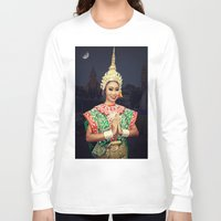 thailand Long Sleeve T-shirts featuring Welcome Thailand by Ian Gledhill