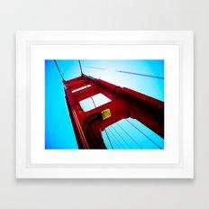 Golden Gate Obsession Framed Art Print