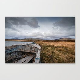Kerry boat wreck Canvas Print