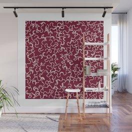 "Pattern Print ""Curl Crawl"" Wall Mural"