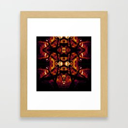 Eye of Fire Framed Art Print