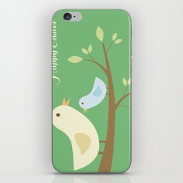 Easter Greeting Cards iPhone Skin