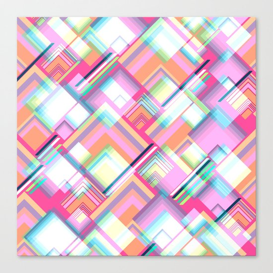 Spectacular geometry Canvas Print