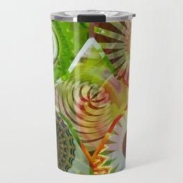 Sunny Basal Mandalas Travel Mug