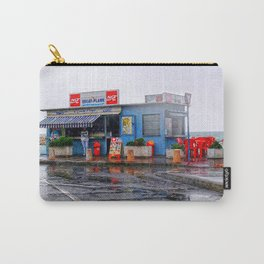 Rainy Beach Bar Cote d´Azur Carry-All Pouch