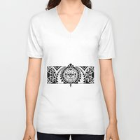 maori V-neck T-shirts featuring Maori by Reiv
