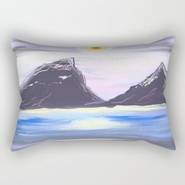 Winter Solstice Rectangular Pillow