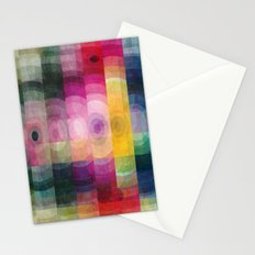 Pattern circle Stationery Cards