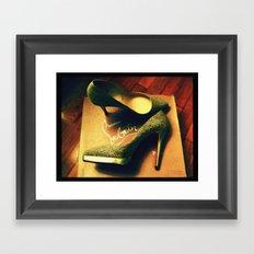 Shoes - Louboutin V Framed Art Print