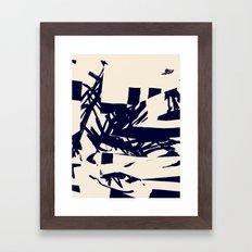 Lessons of Rock and Bone Framed Art Print